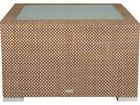 Source Outdoor Furniture Lucaya Wrap Aluminum 30 Square Coffee Table