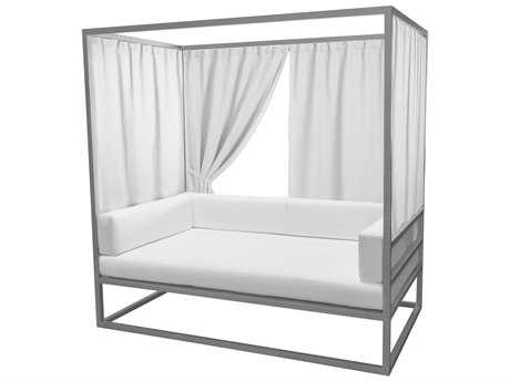 Source Outdoor Furniture Relax Daybed Curtain (Covers three sides)