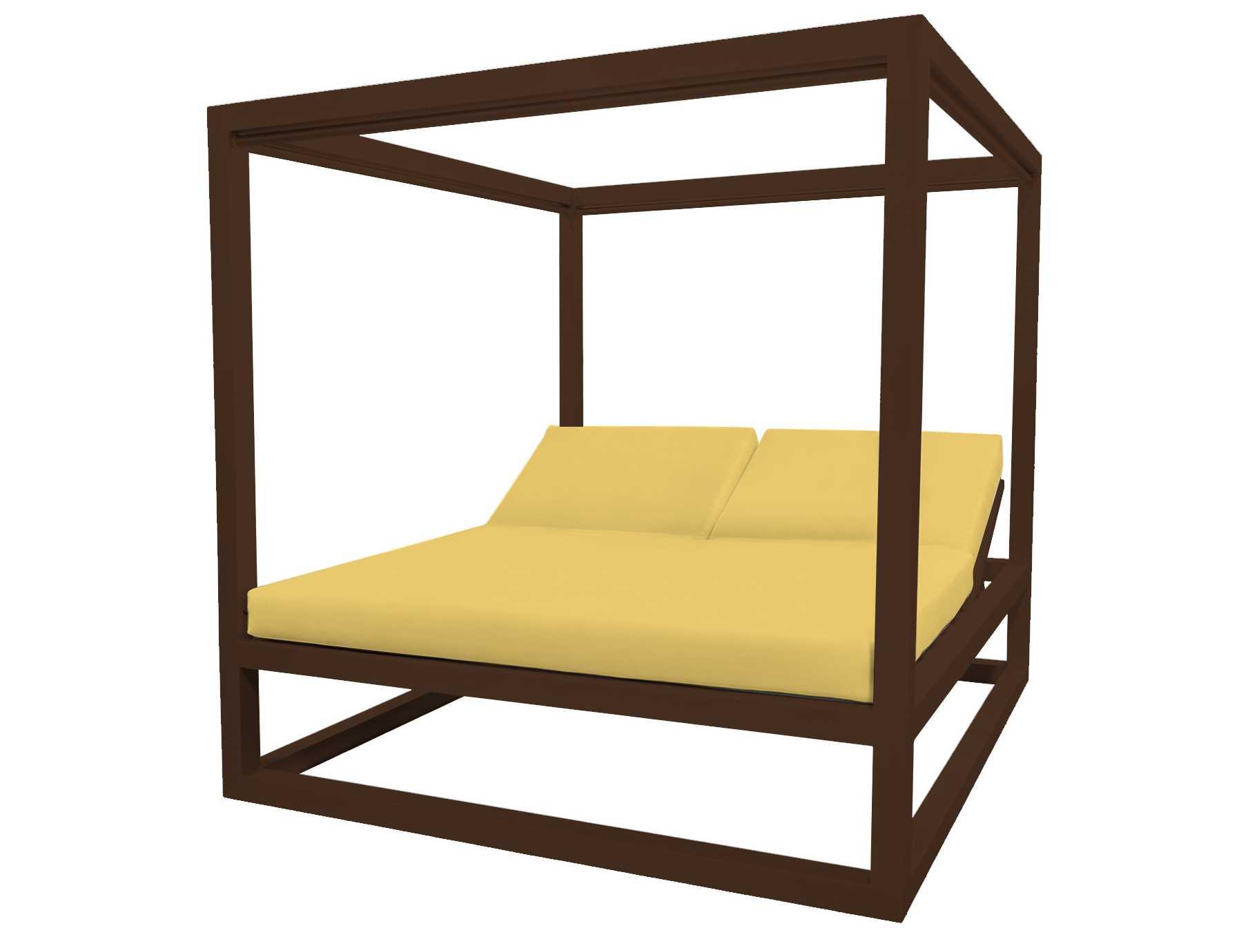 Source outdoor furniture breeze aluminum daybed square for Source outdoor furniture