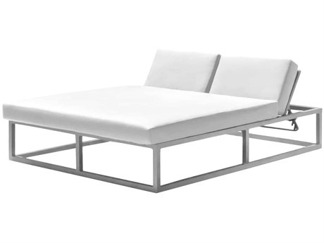 Source Outdoor Furniture Monaco Aluminum Cushion Lounge Bed