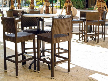 Source Outdoor Furniture Zen Wicker Bar Set
