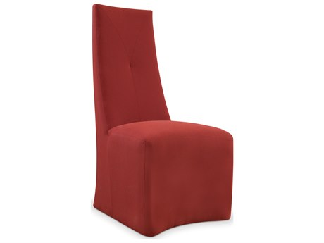 Seasonal Living Fizz Maroon Marine Grade Polymer Flirtini Dining Arm Chair