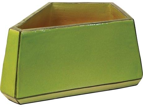 Seasonal Living Apple Green Ceramic Arafura Small Vase PatioLiving