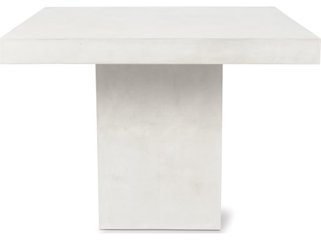 Seasonal Living Perpetual Ivory White Phil 48''W x 36''D Rectangular Counter Table SEA501FT046P2W