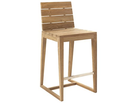 Seasonal Living Perpetual Millenia Teak Bar Side Chair (Price Includes 2)