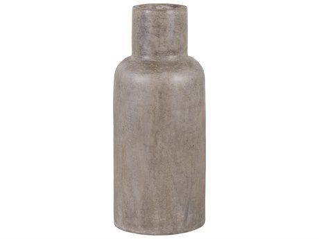 Seasonal Living Perpetual Slate Gray Concrete Capri Vase SEA501GU022P2G