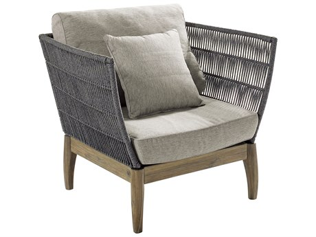 Seasonal Living Explorer Mixed Gray Acaci Wood Wings Lounge Chair (Price Includes 2)