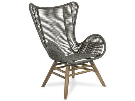 Seasonal Living Explorer Mixed Gray Oceans Neptune Lounge Chair and Ottoman PatioLiving