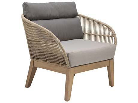 Seasonal Living Explorer Eucalyptus Wood Fuego Lounge Chair Set (Price Includes 2)