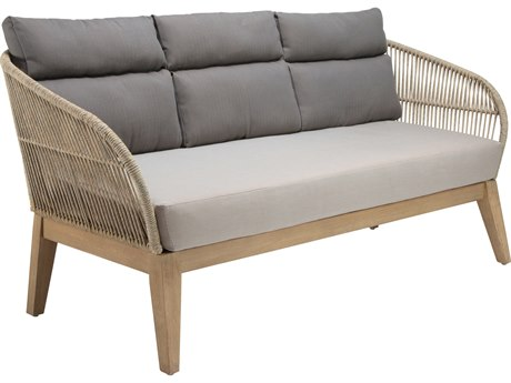 Seasonal Living Explorer Eucalyptus Wood Fuego Sofa
