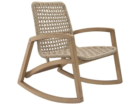 Seasonal Living Explorer Eucalyptus Wood Fuego Rocker Lounge Chair