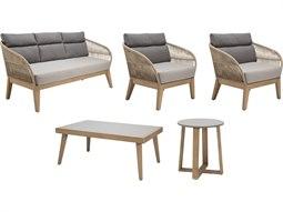 Explorer Eucalyptus Wood Fuego Furniture Group Set