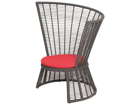 Seasonal Living Archipelago Dark Gray Aluminum Fernando De Noronha Lounge Chair SEA620FT005P2DGP