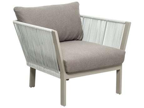 Seasonal Living Archipelago Light Gray Aluminum St. Helena Lounge Chair