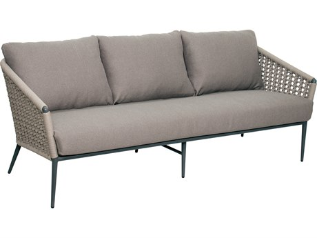 Seasonal Living Archipelago Dark Gray Aluminum Antilles Sofa SEA620FT016P2DGT