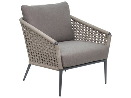 Seasonal Living Archipelago Dark Gray Aluminum Antilles Lounge Chair