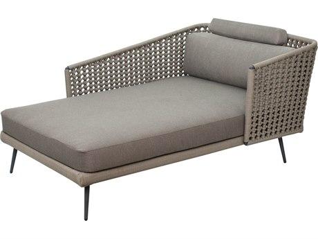 Seasonal Living Archipelago Dark Gray Aluminum Antilles Dream Right Arm Chaise Lounge