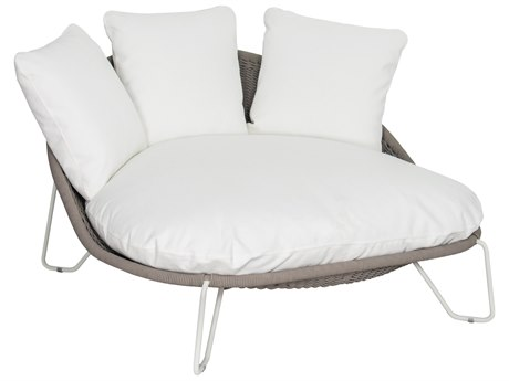 Seasonal Living Archipelago Coconut White Steel Aegean Daybed SEA620FT022P2CWT