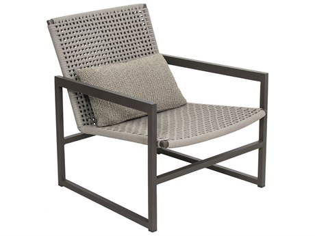 Seasonal Living Archipelago Javanese Nut Brown Aluminum Torres Strait Lounge Chair Set (Price Includes 2) SEA620FT028P2JBT