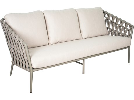 Seasonal Living Archipelago Aluminum Light Gray Andaman Sofa