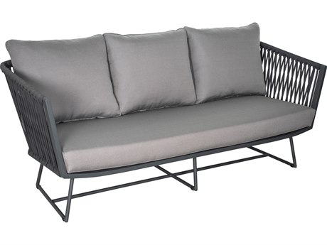 Seasonal Living Archipelago Aluminum Dark Gray Orion Sofa