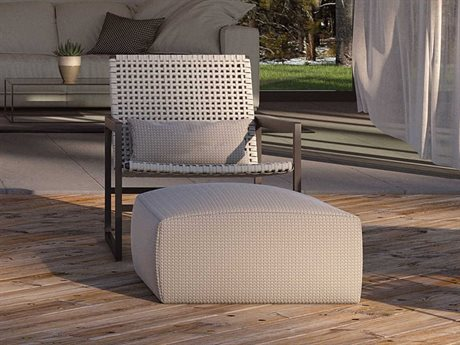 Seasonal Living Archipelago Javanese Nut Brown Aluminum Torres Strait Lounge Set PatioLiving