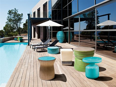 Seasonal Living Ceramic Lounge Set PatioLiving