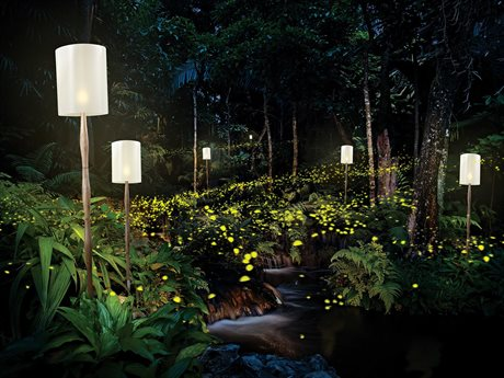 Seasonal Living Inda Firefly Torch Floor Lamp Set