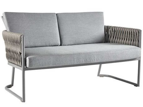 Sifas Basket Mat Grey Aluminum Cushion Sofa PatioLiving
