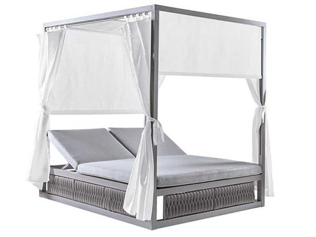 Sifas Kalife Aluminum Cushion Lounge Bed PatioLiving