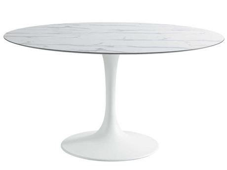 Sifas Korol 55'' Wide Aluminum Round Dining Table PatioLiving