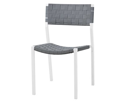 Sifas Pheniks Strap Taupe / Mat Moka Aluminum Dining Chair