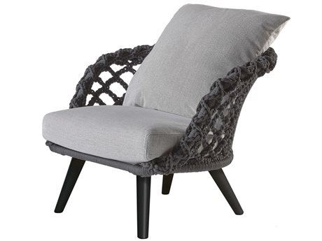 Sifas Riviera Carbone Fabric Cushion Lounge Chair PatioLiving