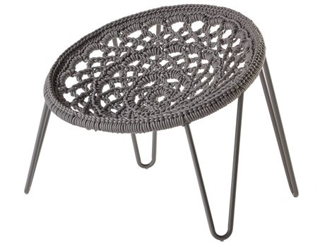 Sifas Riviera Gris Rope Fabric Lounge Chair PatioLiving
