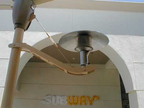 Sunglo Steel Hanging Natural Gas Heater
