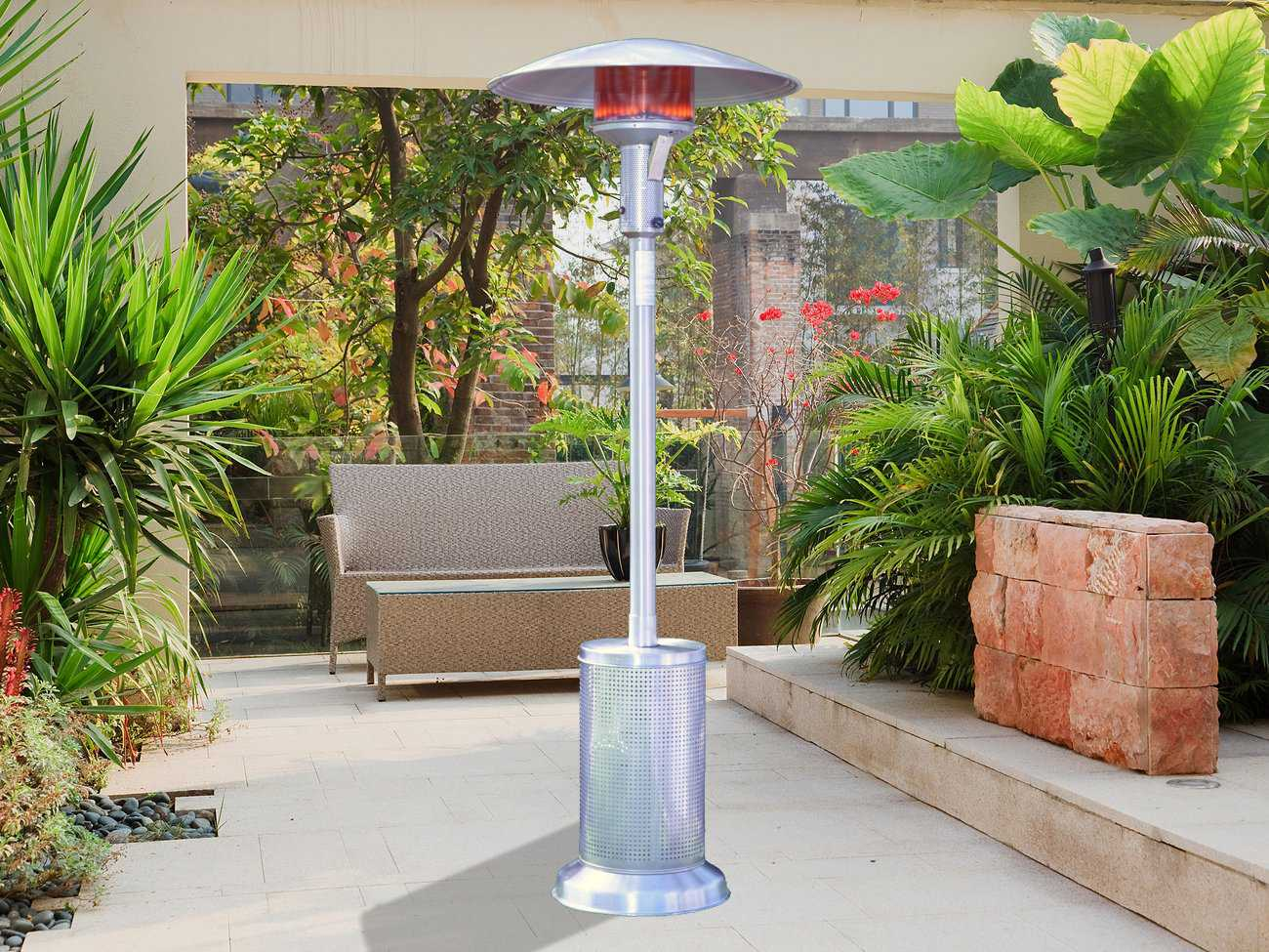 Sunglo Stainless Steel Infrared Portable Propane Heater