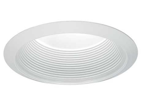 Sea Gull Lighting White & Baffle 6.5'' Wide Recessed Light Trim