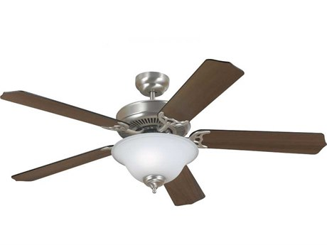 Sea Gull Lighting Quality Max Plus Brushed Nickel 52'' Wide Indoor Ceiling Fan