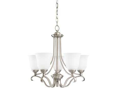 Sea Gull Lighting Parkview Antique Brushed Nickel Five-Light 24'' Wide Chandelier