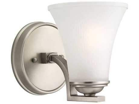 Sea Gull Lighting Somerton Antique Brushed Nickel Wall Sconce
