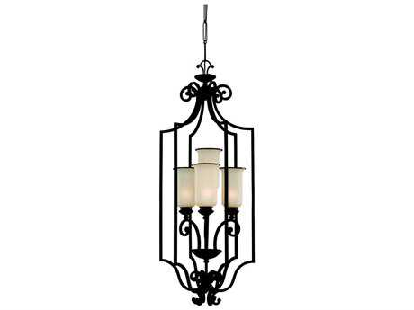 Sea Gull Lighting Acadia Misted Bronze Four-Light 18'' Wide Foyer Pendant