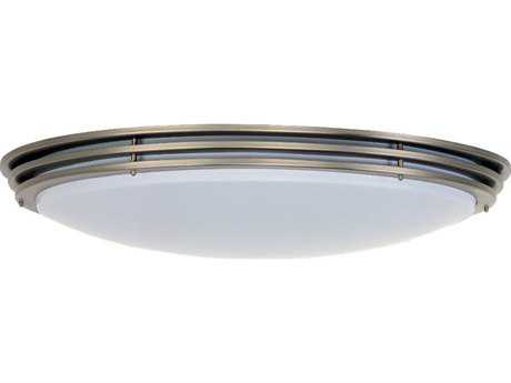 Sea Gull Lighting Nexus Brushed Nickel 25.75'' Wide Fluorescent Flush Mount Light