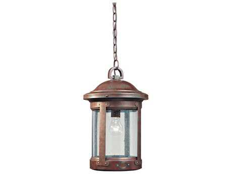 Sea Gull Lighting HSS CO-OP Weathered Copper Outdoor Hanging Light