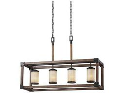 Sea Gull Dunning Chandelier Stardust Cerused Oak
