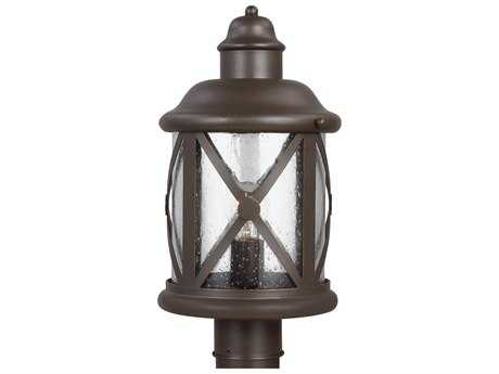Sea Gull Lighting Lakeview Antique Bronze Outdoor Post