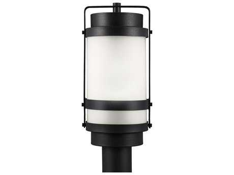 Sea Gull Lighting Bucktown Black Outdoor Post