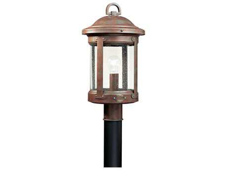 Sea Gull Lighting HSS CO-OP Weathered Copper Outdoor Post