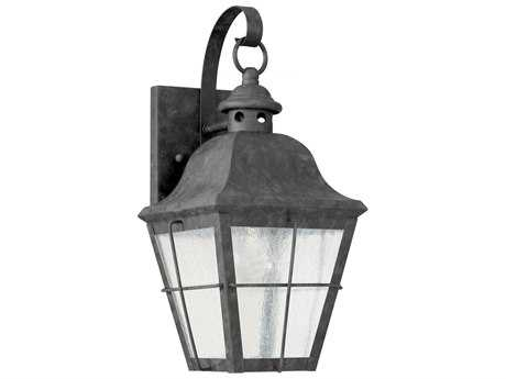 Sea Gull Lighting Chatham Oxidized Bronze LED Outdoor Wall Light