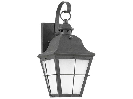 Sea Gull Lighting Chatham Oxidized Bronze Fluorescent Outdoor Wall Light