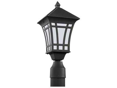 Sea Gull Lighting Herrington Black Outdoor Post